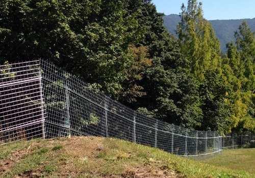 動物の柵として獣害対策をするだけではなく様々な用途で使用が可能